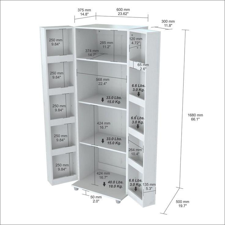White Kitchen Storage Cabinet best 25+ cabinet plans ideas only on pinterest | ana white