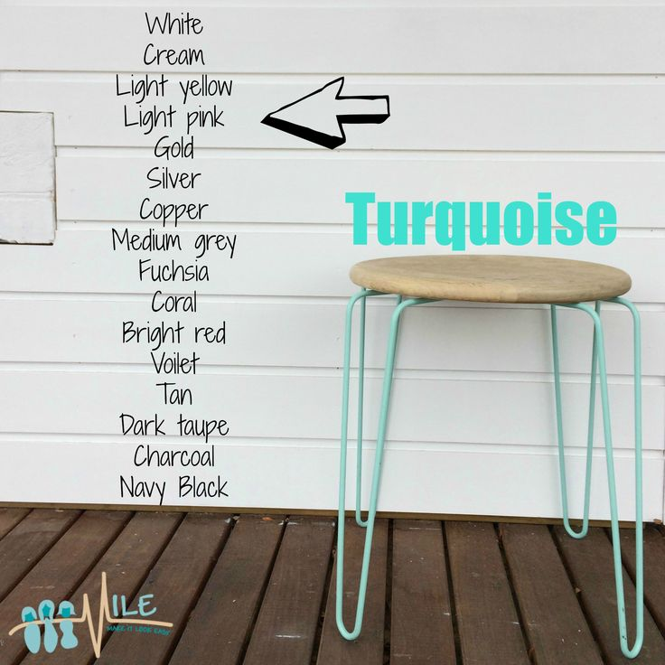 Turquoise goes with...