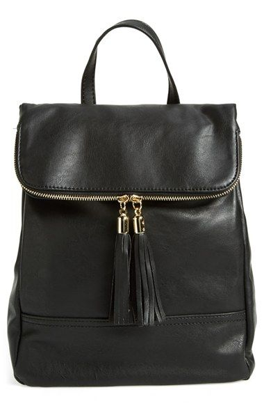 $38 Free shipping and returns on Emperia Faux Leather Backpack (Juniors) at Nordstrom.com. A vintage-inspired faux-leather backpack provides a chic, easygoing finish to your look.