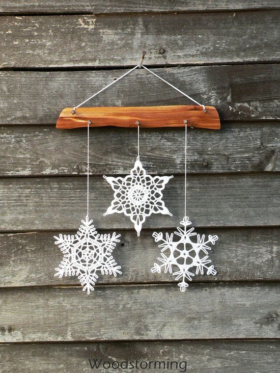 Decorate your cozy home with this elegant Christmas decoration - it can hang on a wall, window or anywhere you want. We wish you best emotions using