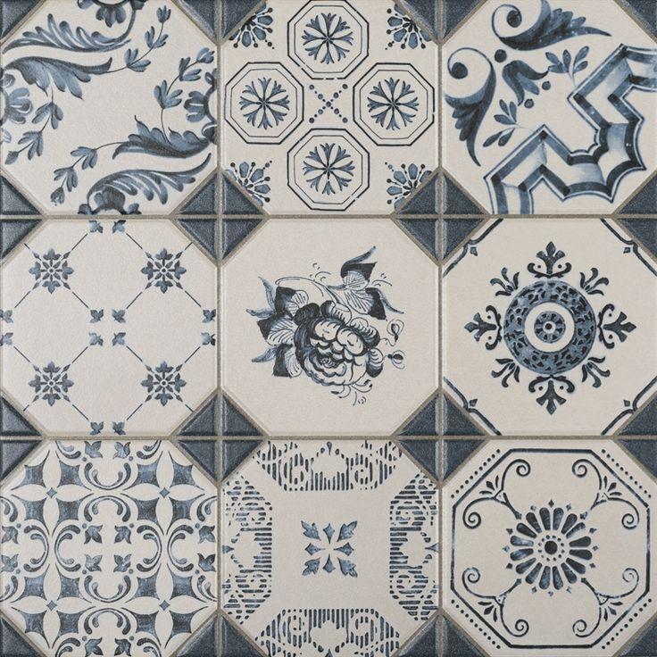 Bli inspirerad av Portugal med detta vackra klinker. Passar utmärkt som ett hallgolv, köksgolv eller varför inte som ett vackert kökskakel hos Stonefactory.se