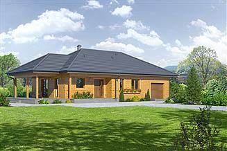 Projekt domu Piaseczno 3g dws