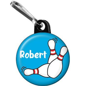 Purchase the Bowling Personalized Mini Zipper Pull for your party. Find huge selections & prices on all birthday decorations & supplies at Birthday in a Box.