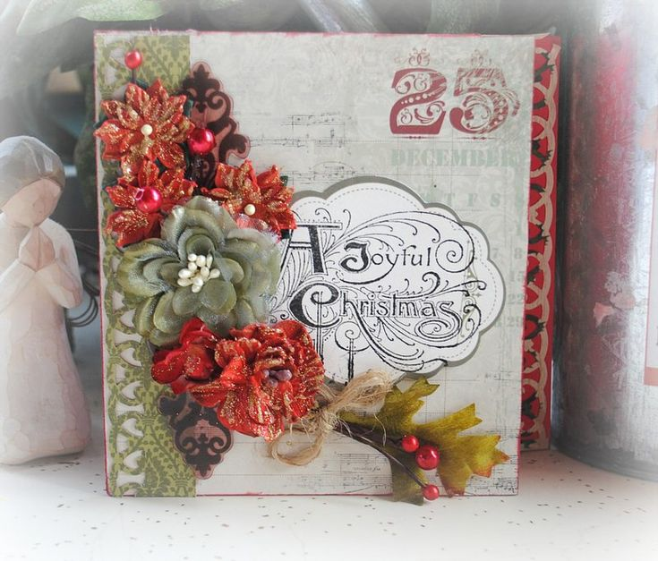 Christmas Card - Scrapbook.com | Scrapbooking | Pinterest: pinterest.com/pin/145381894195243174