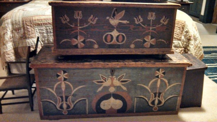 129 Best Images About Painted Six Board Chests On
