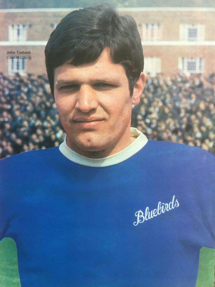 John Toshack of Cardiff City in 1968.
