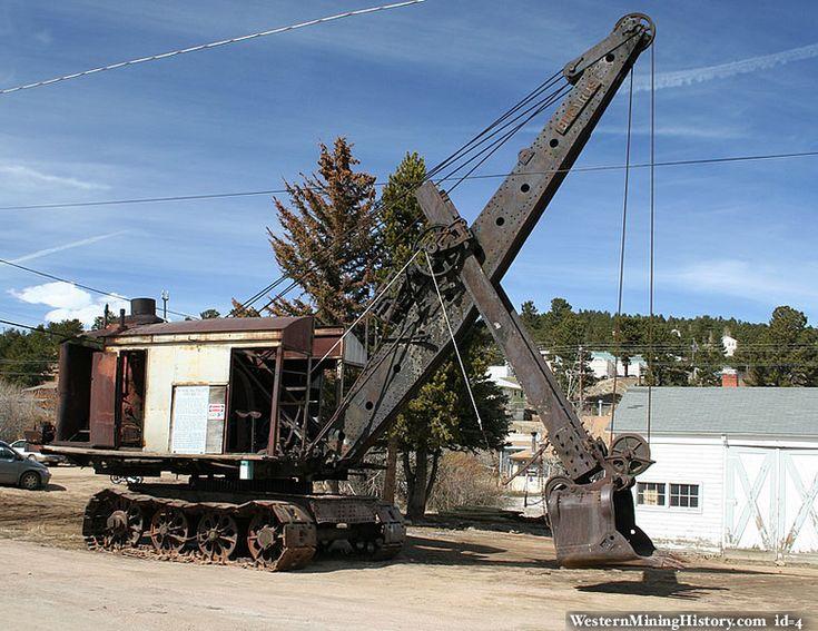 vecchie escavatrici a vapore le origini A1e267cbe05b378fb598b7b1510c5177--steam-power-mining-equipment