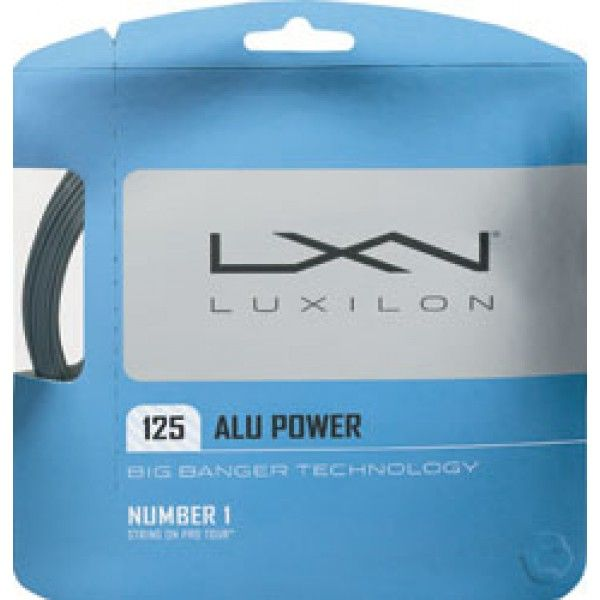 Want to find out why this is the most popular string on tour? Whether it's this or the rough, you have to try it! See why the pros are hooked at Tennis Warehouse Australia. #luxilon #tennis