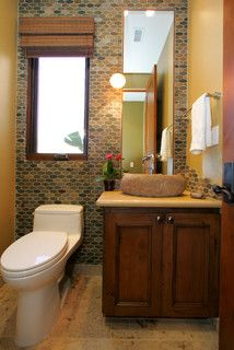 Contemporary Bathroom Powder Room Design Pictures Remodel Decor And Ideas Page