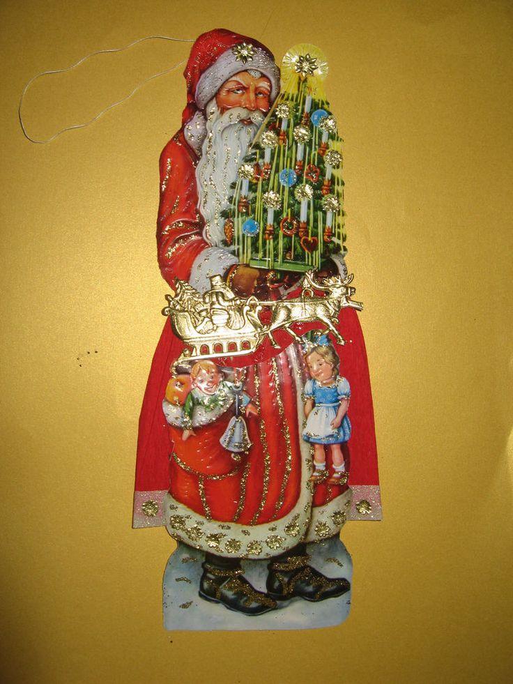 25 einzigartige weihnachtsmann schlitten ideen auf - Schlitten basteln pappe ...