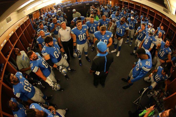 Detroit Lions Preseason Game 4 vs Bills 2015 | Locker Room