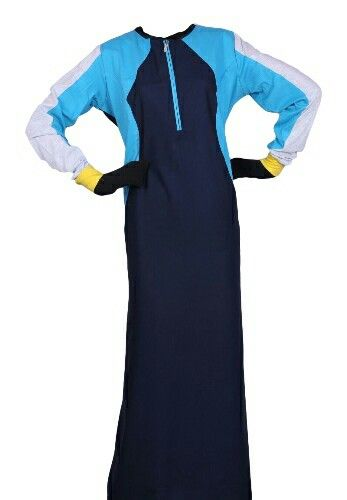 EID ul Adha Women's Sports Abaya Collection #4 Design Nº: 0352 Available Size: 54 to 60, R, L & XL Available Color's: Royal Blue (Combination of 4 Color's) Fabric: T.R. Twill Price From: 675.00 ZAR More info @ http://kufnees.co.za