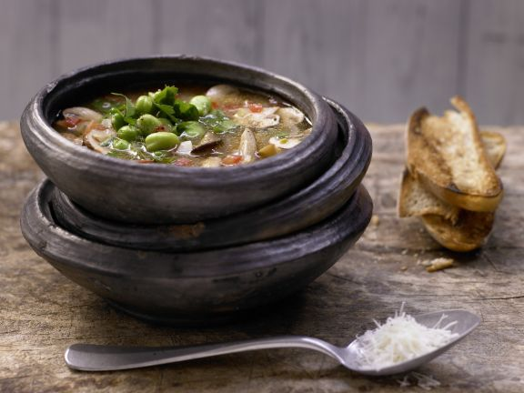 Tuscan Mushroom Soup with Fennel and Thyme | Eat Smarter