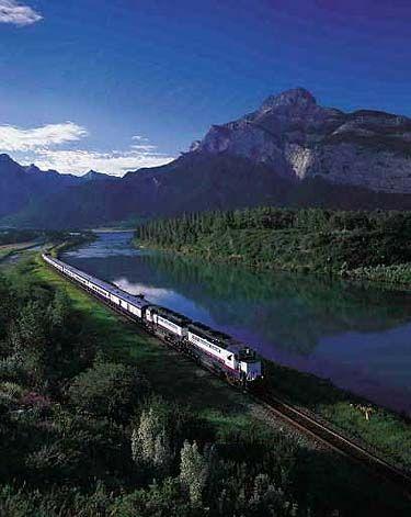 Train ride from Canada's coast to coast