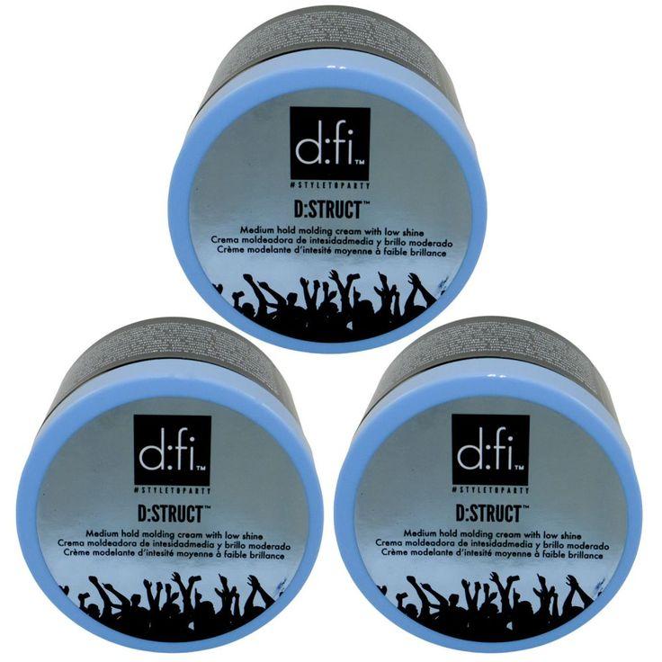 Revlon D:FI D: Struct 3 x 150 g Styling  Molding Creme Haarcreme Set