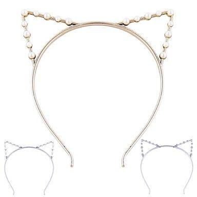 (1 pc) lieve kat oren hoofdbanden voor vrouwen (hualuo sieraden) – EUR € 1.99