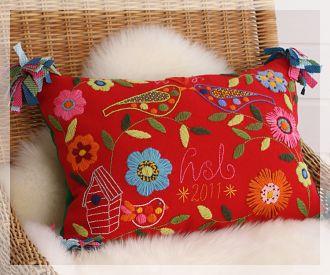 lovely folk embroidery