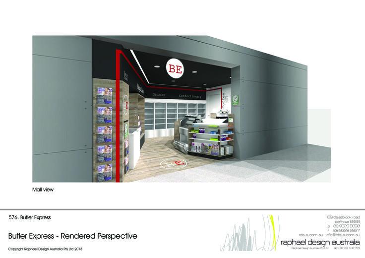 Concepts design for Butler Train station- Butler Express - BE