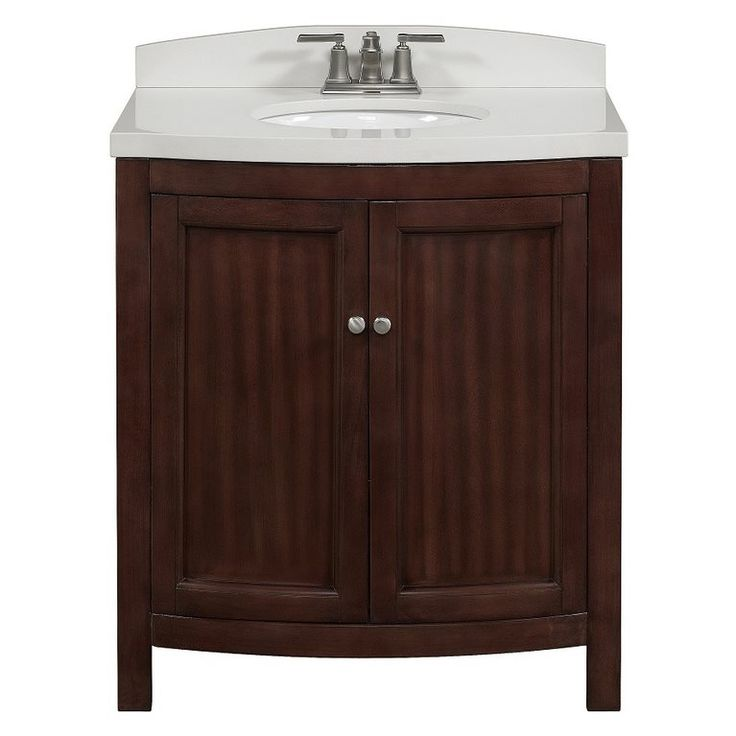 Allen Roth Moravia Sable Undermount Bathroom Vanity With Engineered Stone Top 30 In X 20 In