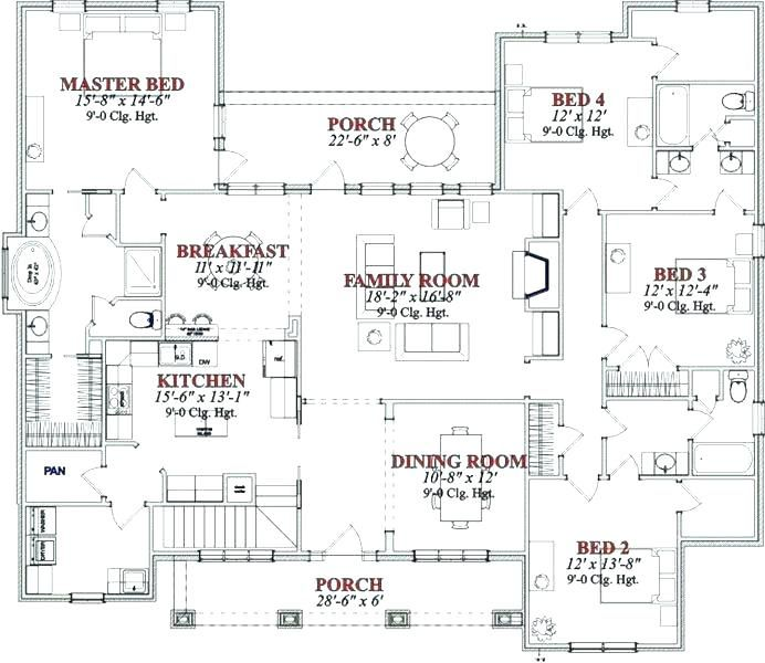 Dormer Bungalow Plans Dormer Bungalow Floor Plans 4 Bedroom Bungalow Plans Skillful Design House Plans For 4 B Dormer Bungalow Bungalow Floor Plans House Plans