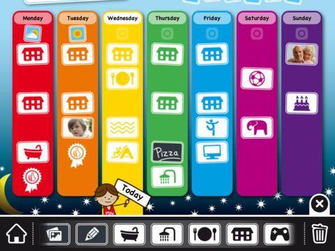 Week Planner for Kids by Novitura