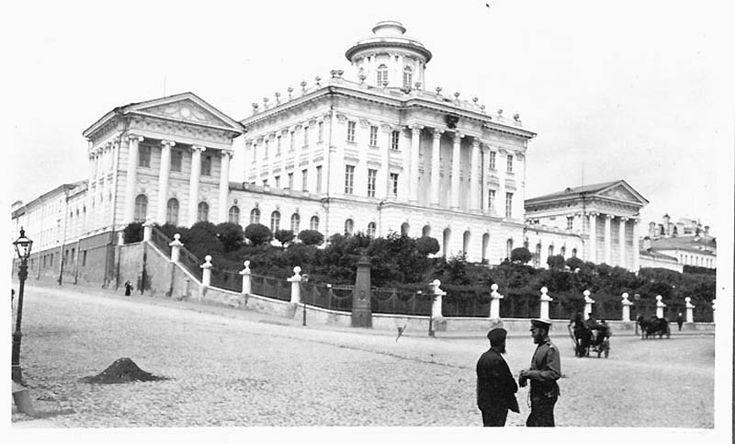 Москва и Москвичи 1909 года. Американский журналист Мюррэй Хоу