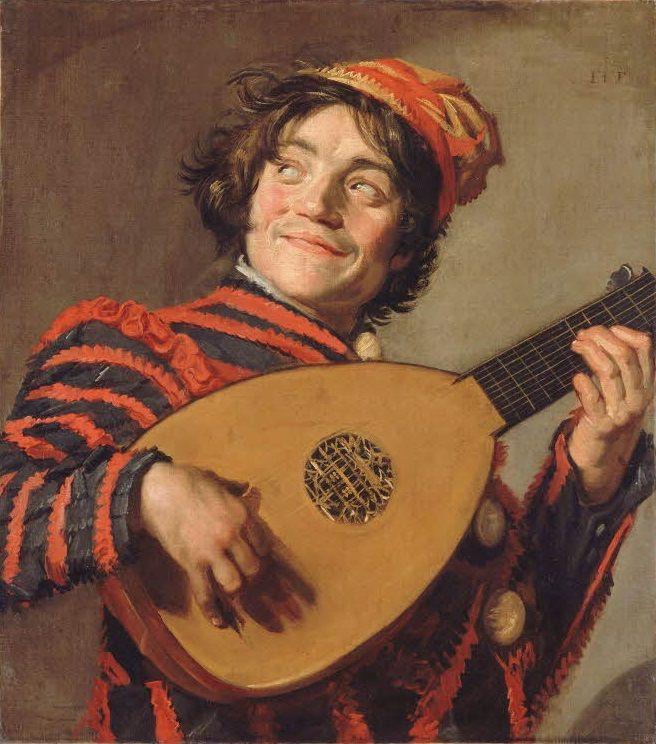 Le Bouffon au luth, de Frans HALS. Département des Peintures : Peinture hollandaise, 1624-1626 © 2005 Musée du Louvre RMN / Franck Raux