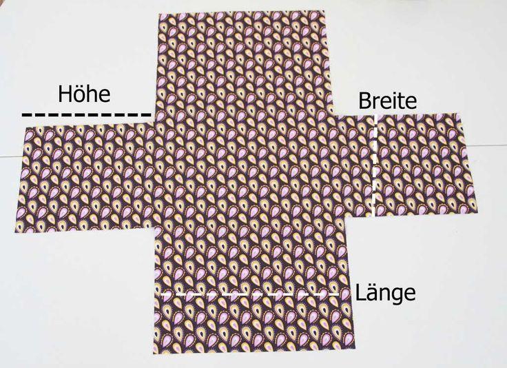 Ein Utensilo nähen ist ganz einfach! Hier in der Anleitung zeige ich euch, wie es geht in drei einfachen Schritten. Der perfekte Korb z.B. für Spitze oder Schrägbänder.