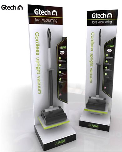G Tech – Wireless Vacuum Retail Display - Bespoke POP
