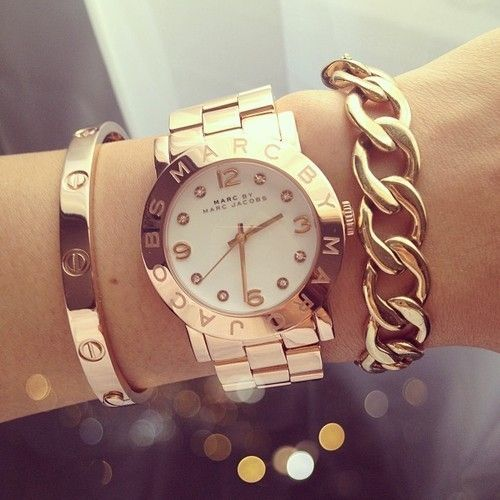 I love this Marc Jacobs' ensemble! Items are available @ http://marcjacobs.com/marc-by-marc-jacobs/watches/womens/