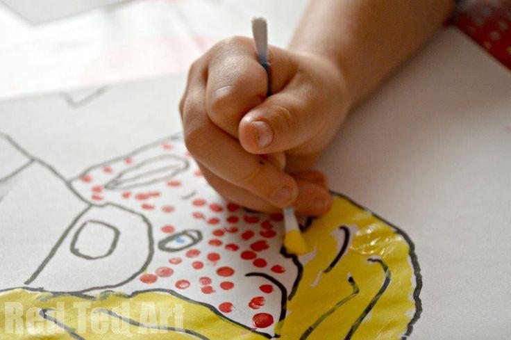 Kids Get Arty: Lichtenstein for Kids
