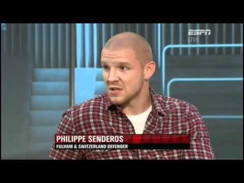 Philippe Senderos' slip of the tongue