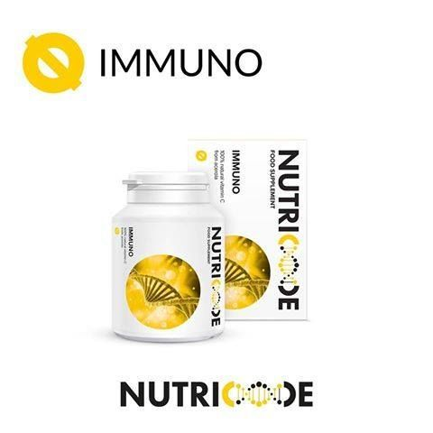 Nutricode Immuno Code: 801004 Visit the WebShop http://membersfm.com/michelle-brandon Capacity: 60 LOZENGES (72g) FOOD SUPPLEMENT  - 100% natural vitamin C from acerola Vitamin C has been known for years, however, it is currently experiencing a renaissance. It's a result of the latest reports not only on great influence of this vitamin on our immunity, but also on its use in the course of many diseases. Do not let recurring colds pull the rug from under your feet!
