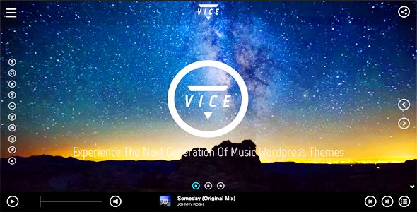 Vice: Music, Dj and Music Band Wordpress Theme  Buy Link: http://themeforest.net/item/vice-music-dj-and-music-band-wordpress-theme/10067870