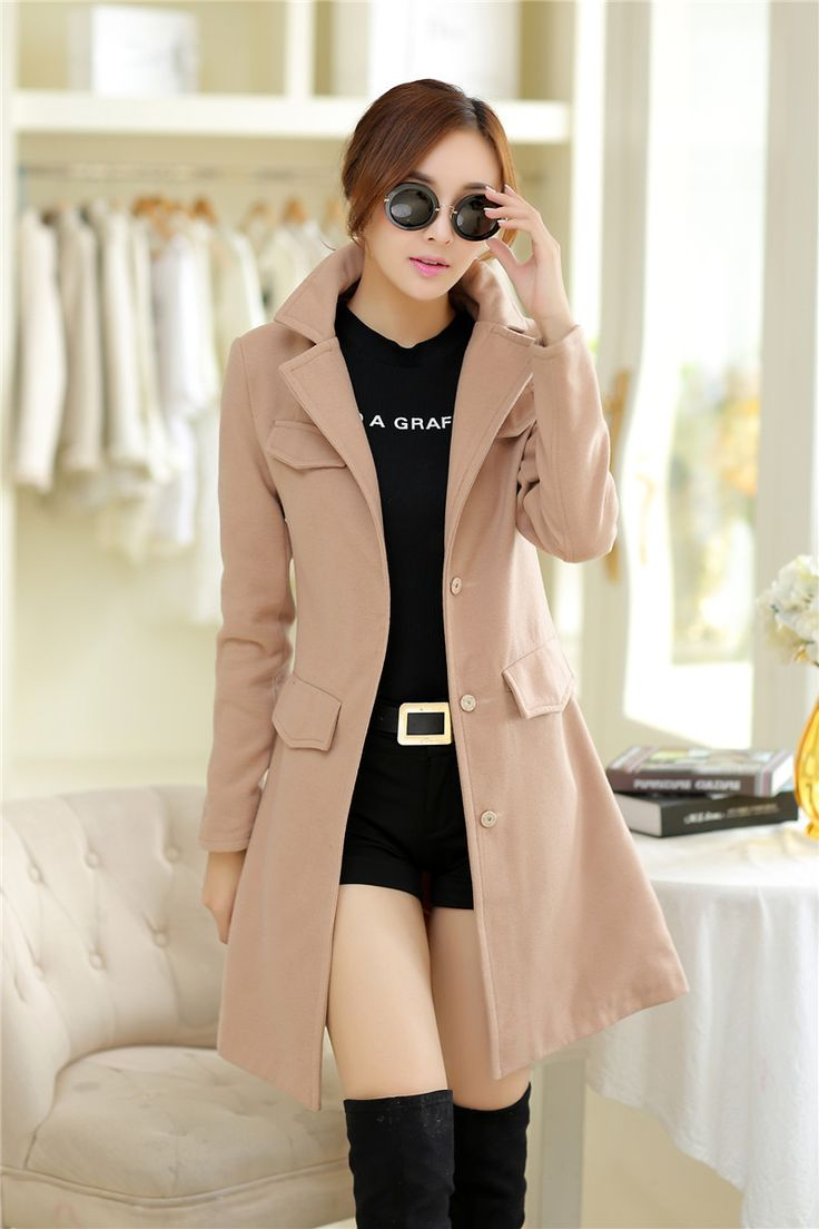 Nice coat. I like a coat that clinches in around the high waist area. It gives a more feminine shape.