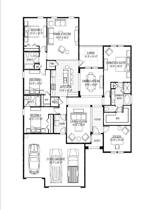 Beach house plan mini loft bungalow home ideas for Beach house plans with loft