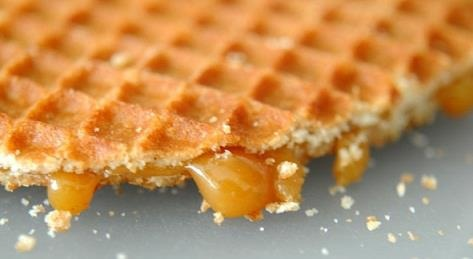 Stroopwafel facts: 1. Originating in Gouda, the first stroopwafel was made in 1784 from leftover crumbs, spices and sweetened with syrup.  2. The oldest known recipe dates from 1840 from the baker Gerard Kamphuisen, it took until 1870 for the craze to be known outside Gouda.  3. The Dutch consume 500 million stroopwafels per year, that's over 20 cookies per person. http://greetingsfrom.nl/en/all-products/syrup-waffle-cookies-baby-bib.html #greetingsfromnl