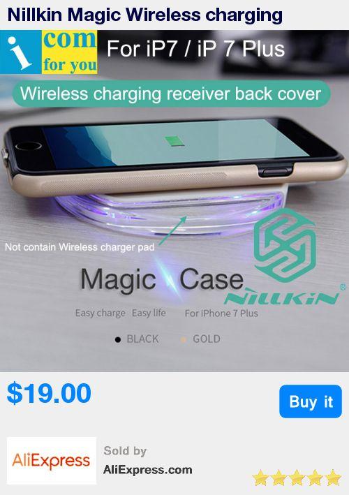 Nillkin Magic Wireless charging receiver Back Cover Case For iPhone 7 Plus Qi Standard * Pub Date: 12:16 Jun 30 2017