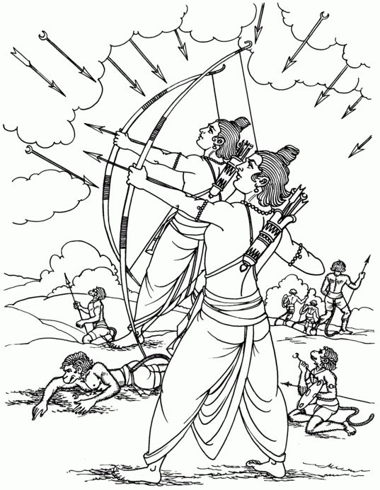 Happy Dussehra 2015 Hd Coloring Pages Sheet Pictures And Photos