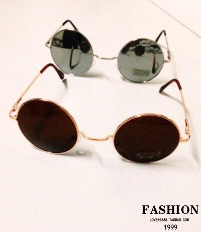 M54 vintage sunglasses circle glasses prince's men's mirror round box women's large sunglasses on AliExpress.com. $18.39