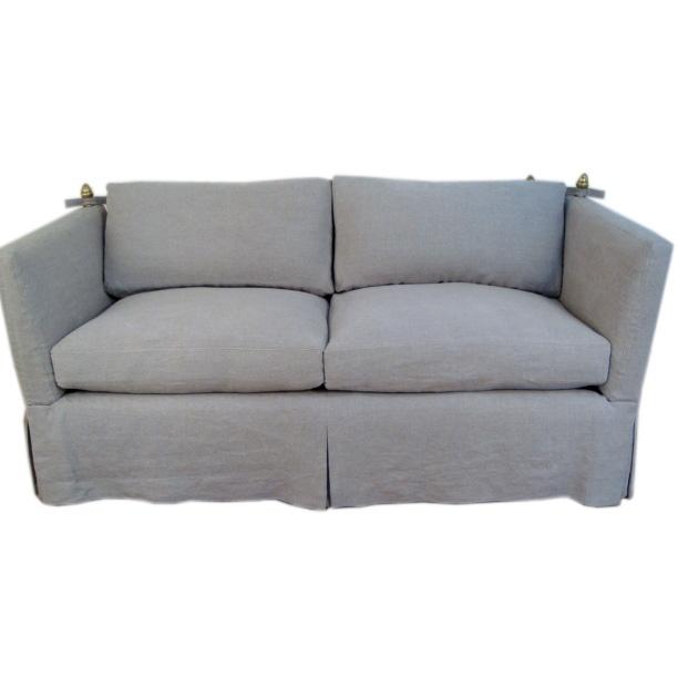Slip covered knole style sofa furniture sofas for Sofa 0 interest