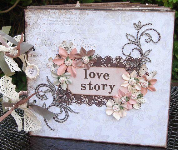 Scrapbook Album   Love Themed Srapbook album by shereenaftab, $109.90