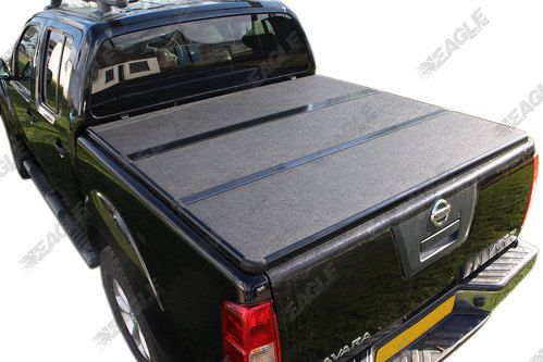 Nissan Navara D40 Eagle1 Hardfolding Tonneau Cover,   If you are looking for a strong and secure cover for your Navara then look no furthur - Great price and Quality:  http://www.eagle4x4.com/nissan-navara-d40-hard-folding-tonneau-bed-cover/