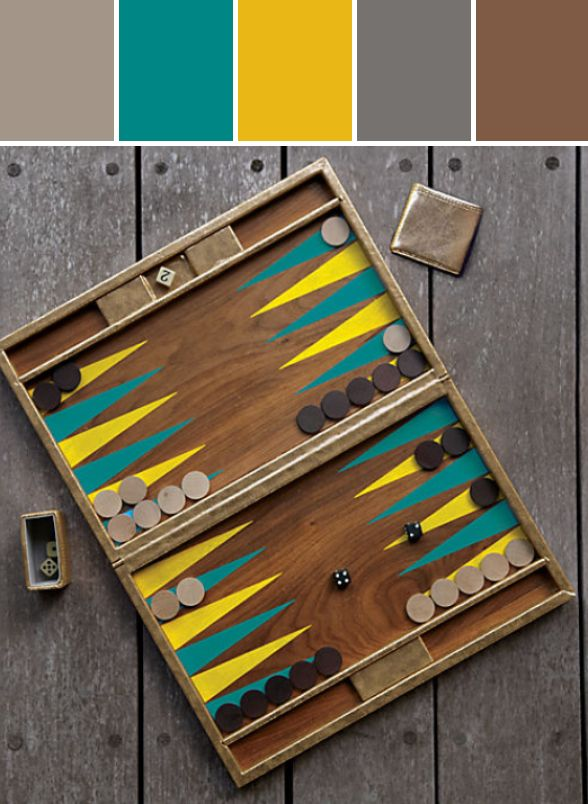 novogratz boa sorte backgammon game set Designed By CB2 via Stylyze