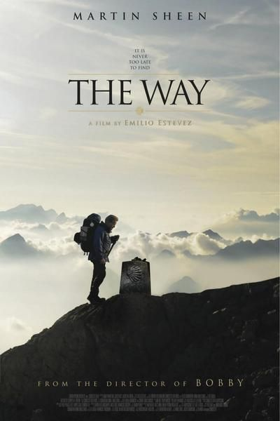 """The Way"" Movie  --  Martin Sheen plays Tom, an American doctor who comes to St. Jean Pied de Port, France to collect the remains of his adult son, killed in the Pyrenees in a storm while walking The Camino de Santiago, also known as The Way of Saint James."
