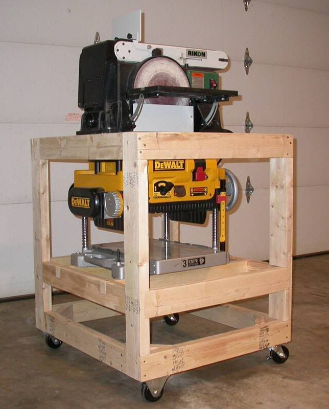 Planer Stand Plans Free - WoodWorking Projects & Plans