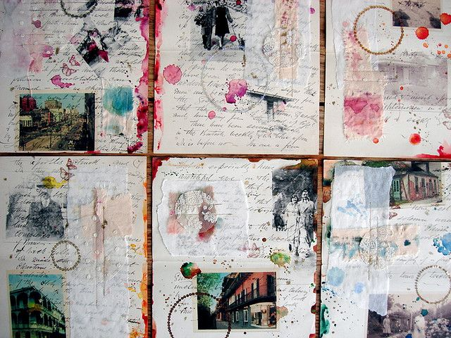 watercolor art journal pages by lobster and swan (flickr) http://www.flickr.com/photos/lobsterandswan/with/3775366189/ http://blog.lobsterandswan.com/