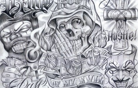 boog tattoo flash sheets
