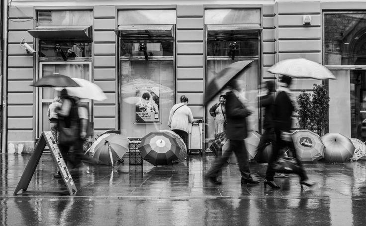 Rain on Sarajevo by Marco Sales on 500px