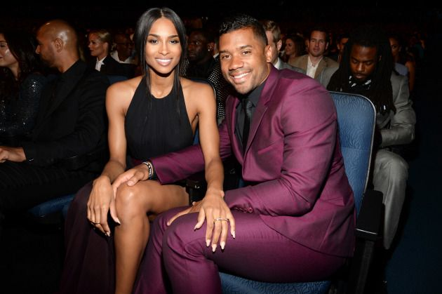 Ciara and Her Son Attend Russell Wilson's Practice (Future NotHappy)